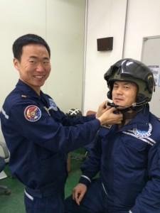 Alpha helmet Korea